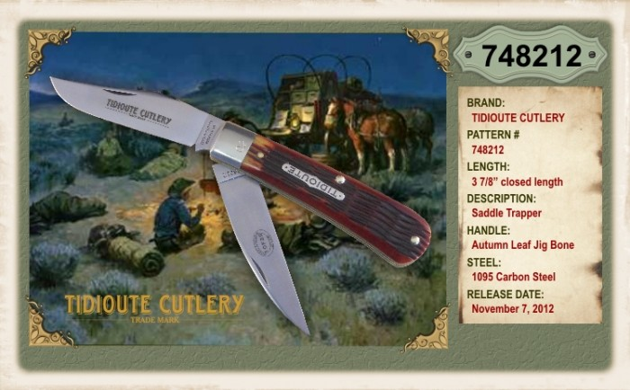 74 Saddle Cotton Ranch Etc Great Eastern Cutlery