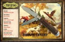 #781214 EC Tidioute, American Jack, Ebony Wood
