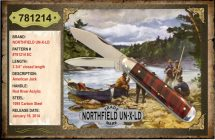 Northfield UN-X-LD, Red River Acrylic