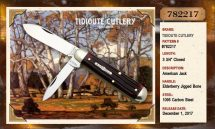 #782217 Tidioute Cutlery, Elderberry Jigged Bone